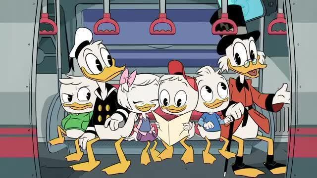 Ducktales Travel the Globe- Breakdancing Party Sushi