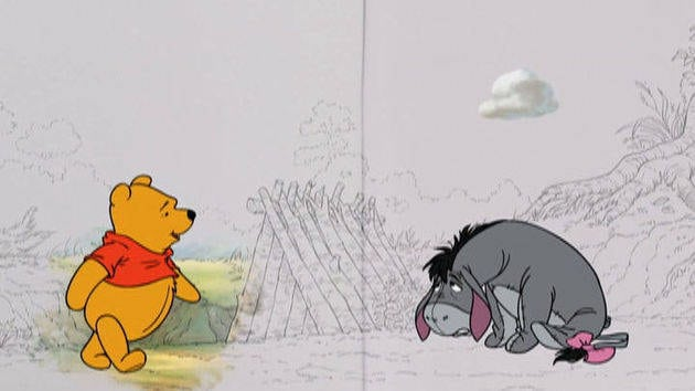 O dia nublado do Ió - Winnie the Pooh