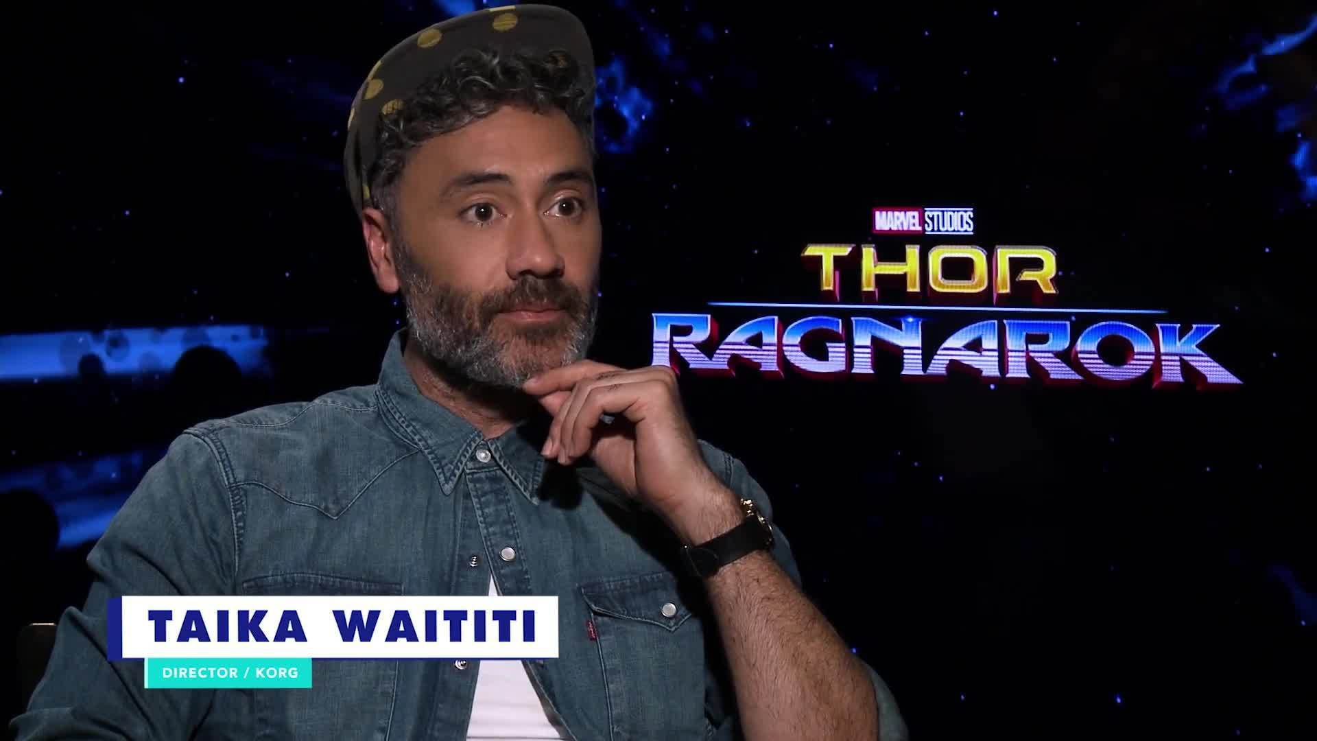 Taika Waititi Talks About Directing Thor: Ragnarok | Oh My Disney Show