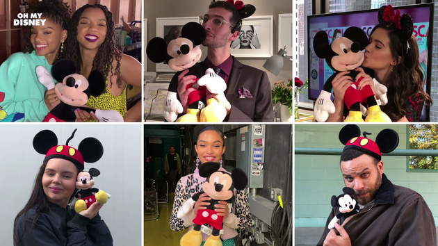 Disney Stars Wish Mickey Happy Birthday | Oh My Disney