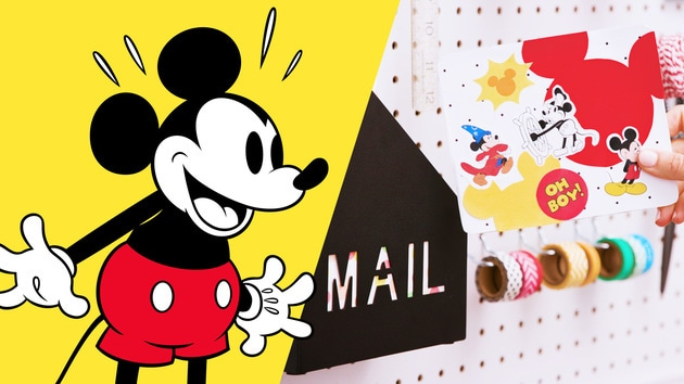 From the Desk of Disney Family: Mickey's 90th | Disney DIY by Disney Family