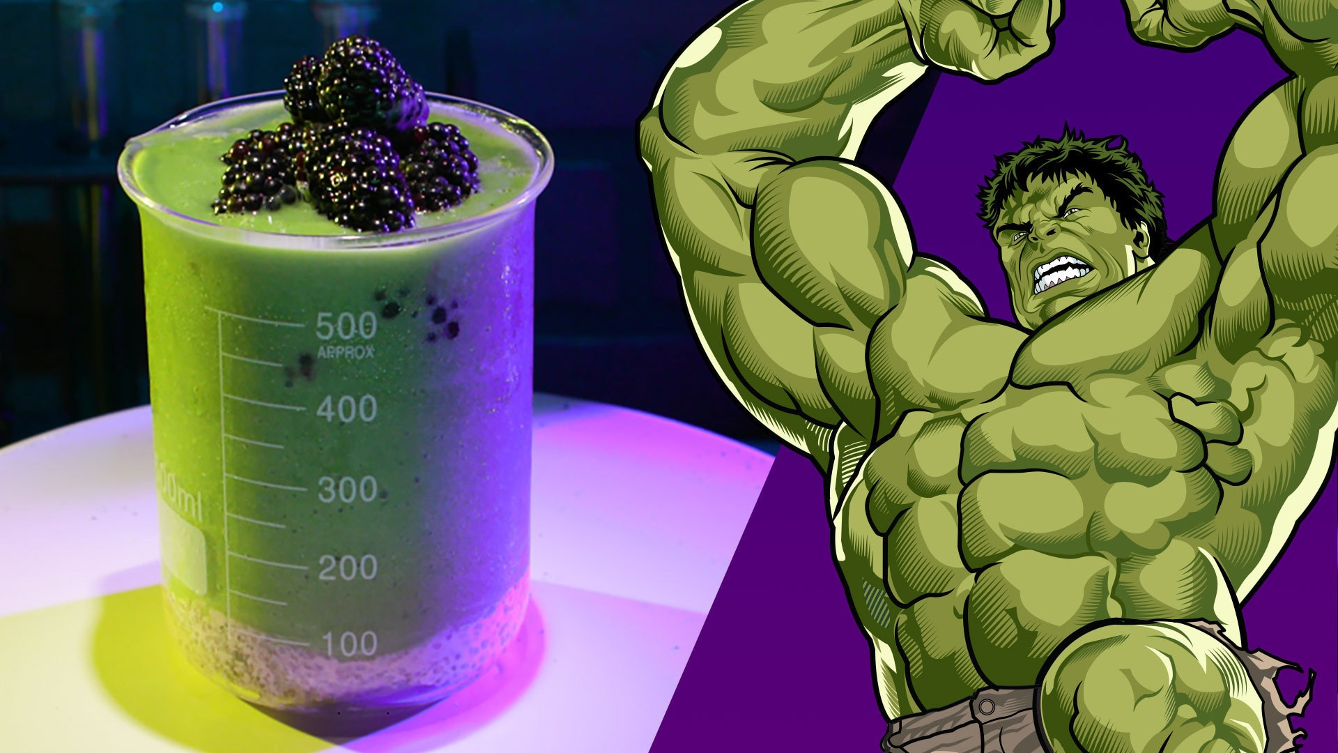Big Guy Smoothie inspired by the Hulk | Disney Family