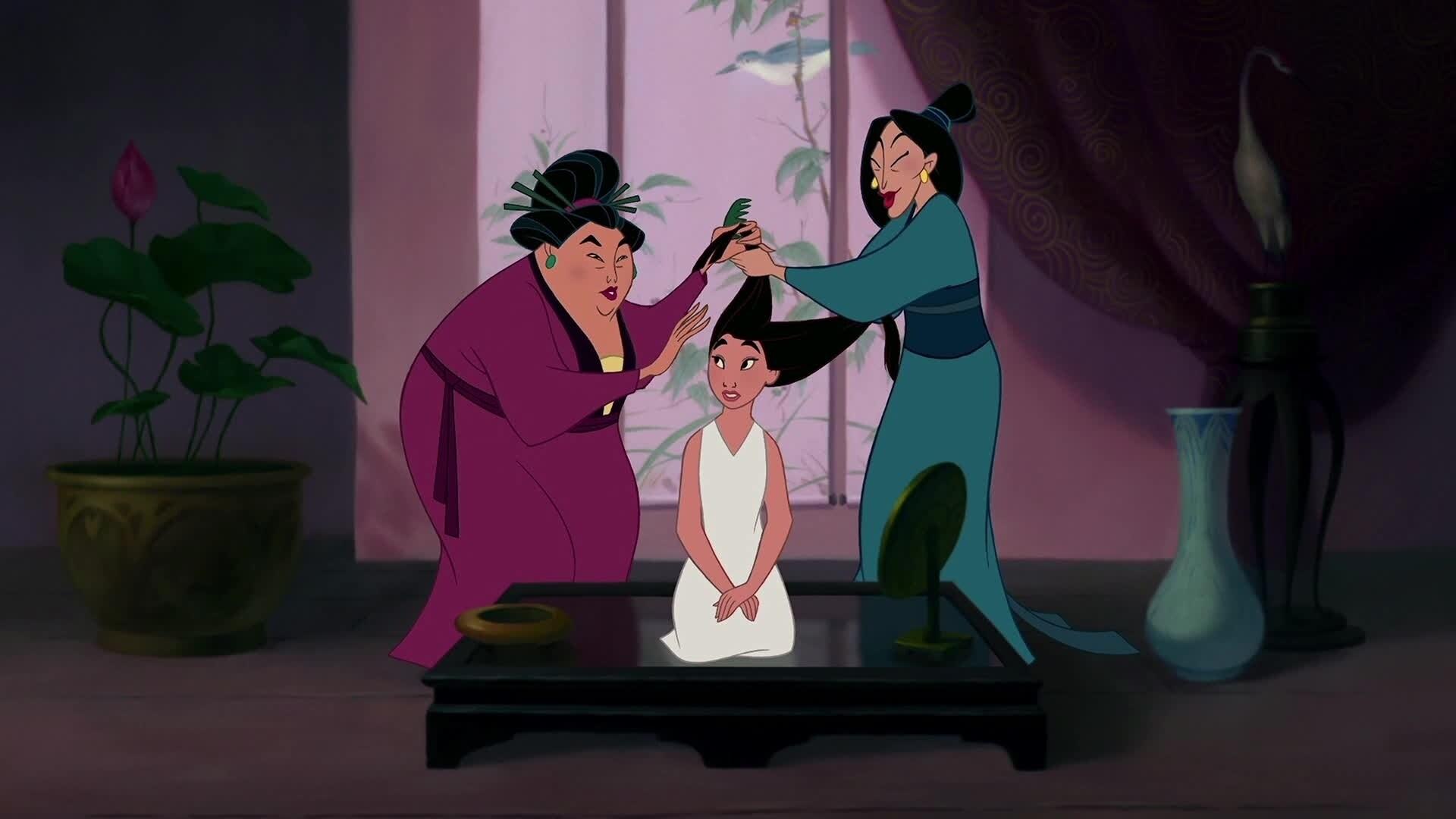 Nos vas a brindar honor - Mulán - Soy una princesa