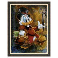 Image of Scrooge McDuck ''Scrooge Treasure'' Giclée by Darren Wilson # 7