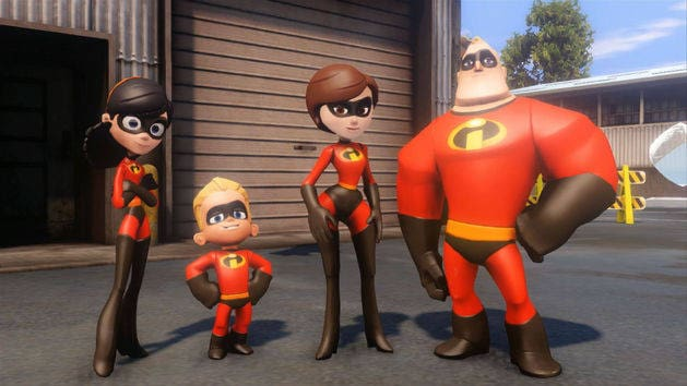 The Incredibles Play Set Trailer - DISNEY INFINITY
