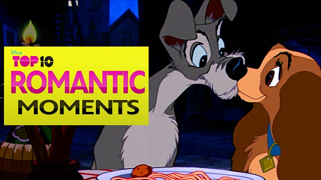 Disney Top Ten Romantic Moments