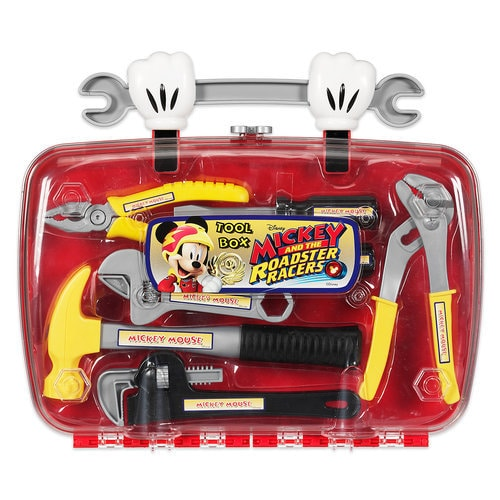 mickey and the roadster racers tool box   shopdisney