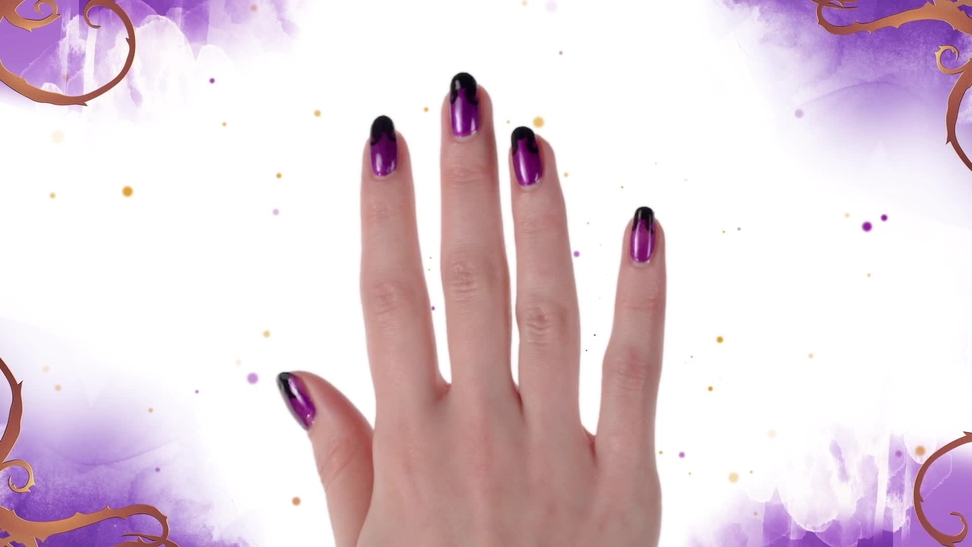 Nail Art - Mal de Descendants