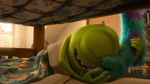 Una mañana en Monsters University - Monsters University
