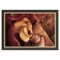 Image of The Lion King ''Pride Love Everlasting'' Giclée by Darren Wilson # 7
