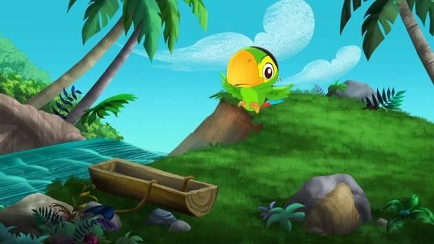 Jake en de Nooitgedachtland Piraten - Spelen met Skully 3