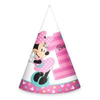 Minnie Mouse 1st Birthday Party Hats