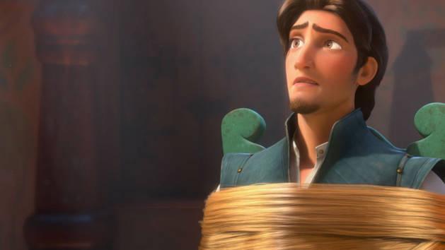 Flynn conoce a Rapunzel - Enredados