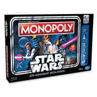 Image of Stars Wars 40th Anniversary Special Edition Monopoly Game # 1