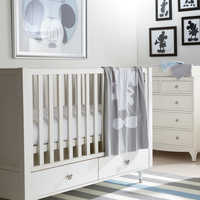 Image of Ethan Allen Crib Collection for Baby # 1