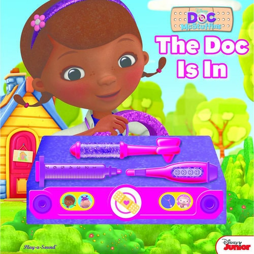 Disney The Doc Is In 4 Piece Doc Mcstuffins Toddler: Doc McStuffins The Doc Is In Book