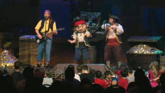Jake and the Never Land Pirate Band
