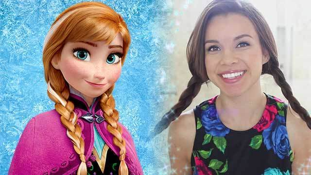 Miss Glamorazzi Anna Lookbook - Frozen