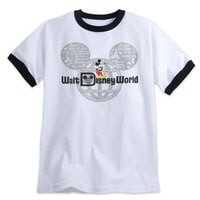 Mickey Mouse with Walt Disney World Logo Tee for Adults - Ringer