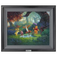 ''Puddle Jumping'' Giclée on Canvas by Michael Humphries - Limited Edition