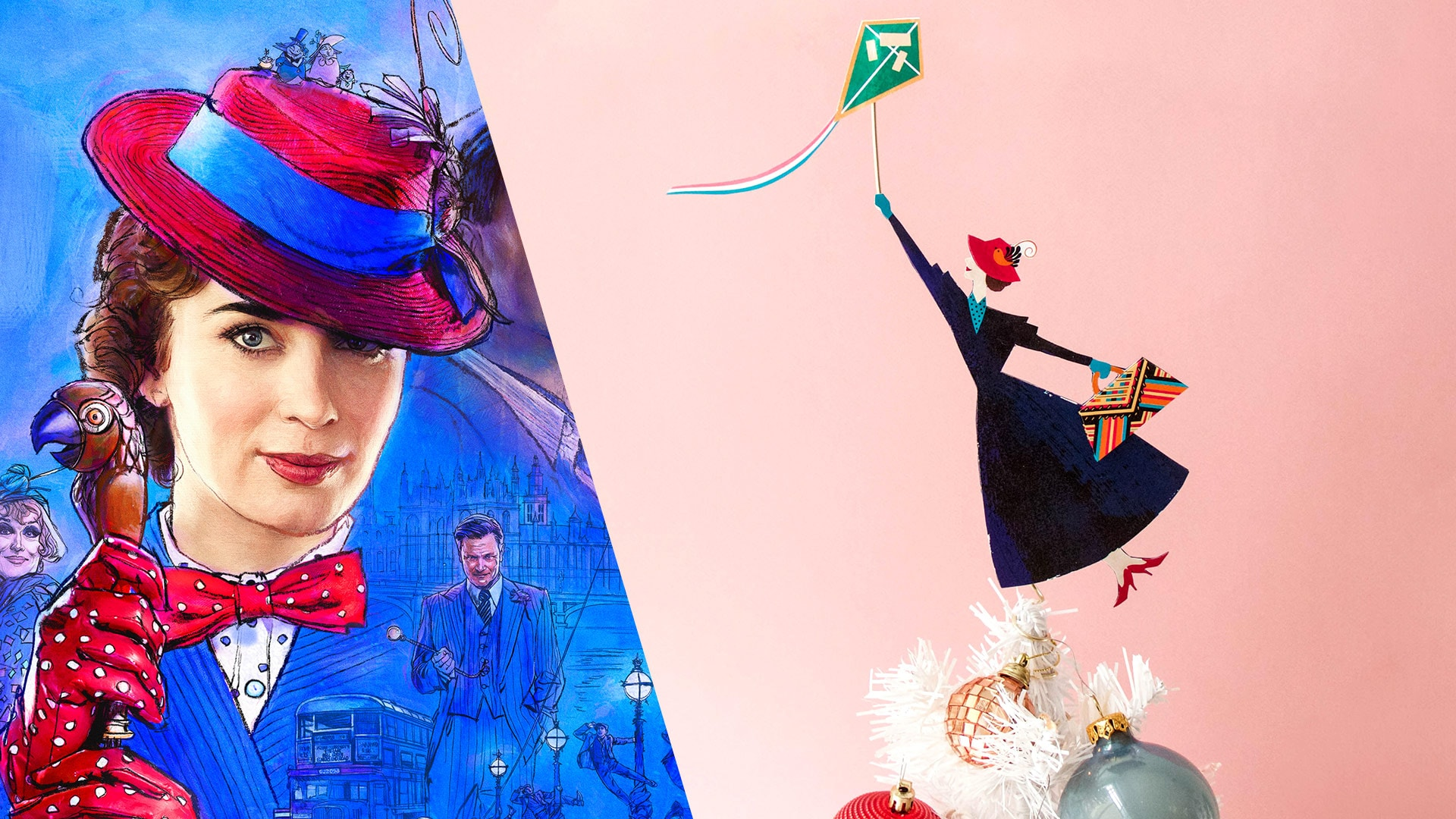 Holiday DIYs Inspired by Mary Poppins Returns | Disney DIY by Disney Family
