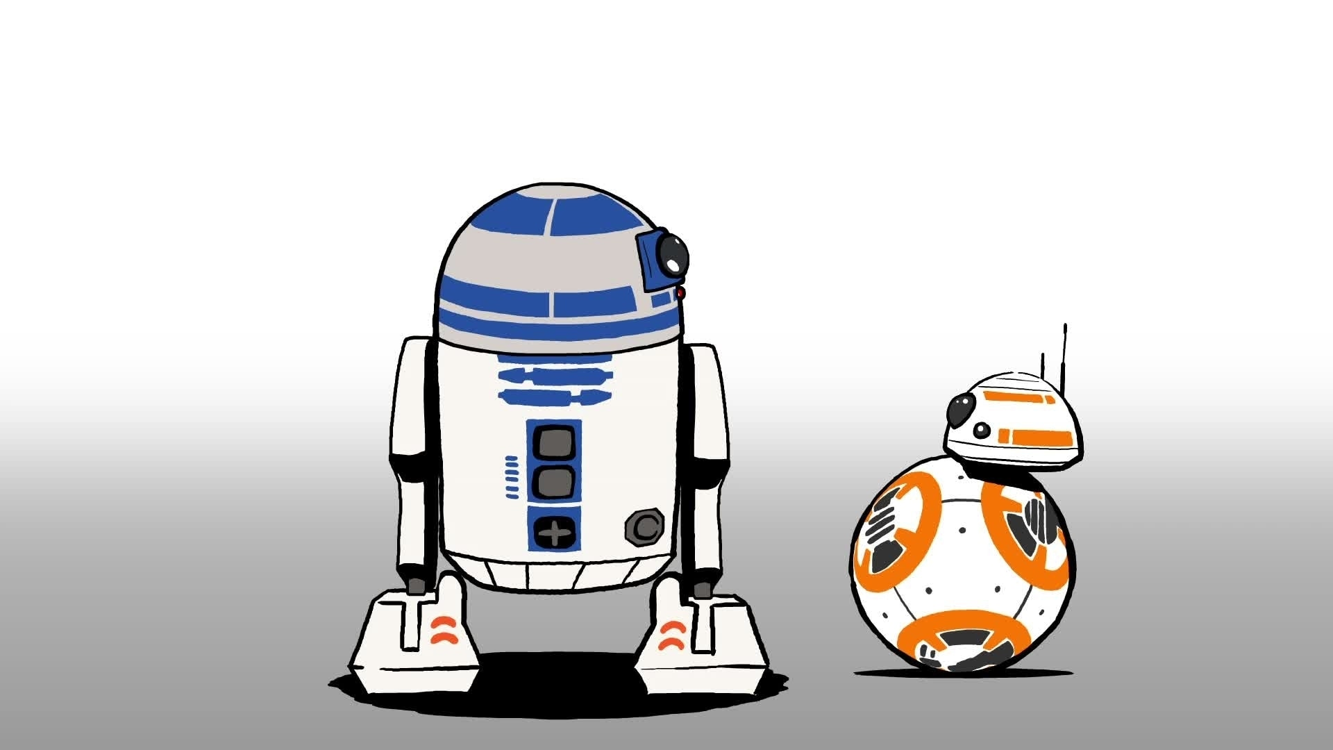 Star Wars : La Pause BB-8 - R2-D2