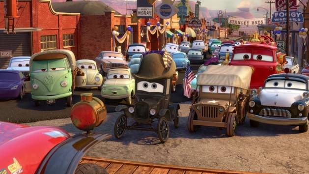 The radiator springs 500 1 2 cars toons tales from radiator springs disney video - Image cars disney ...