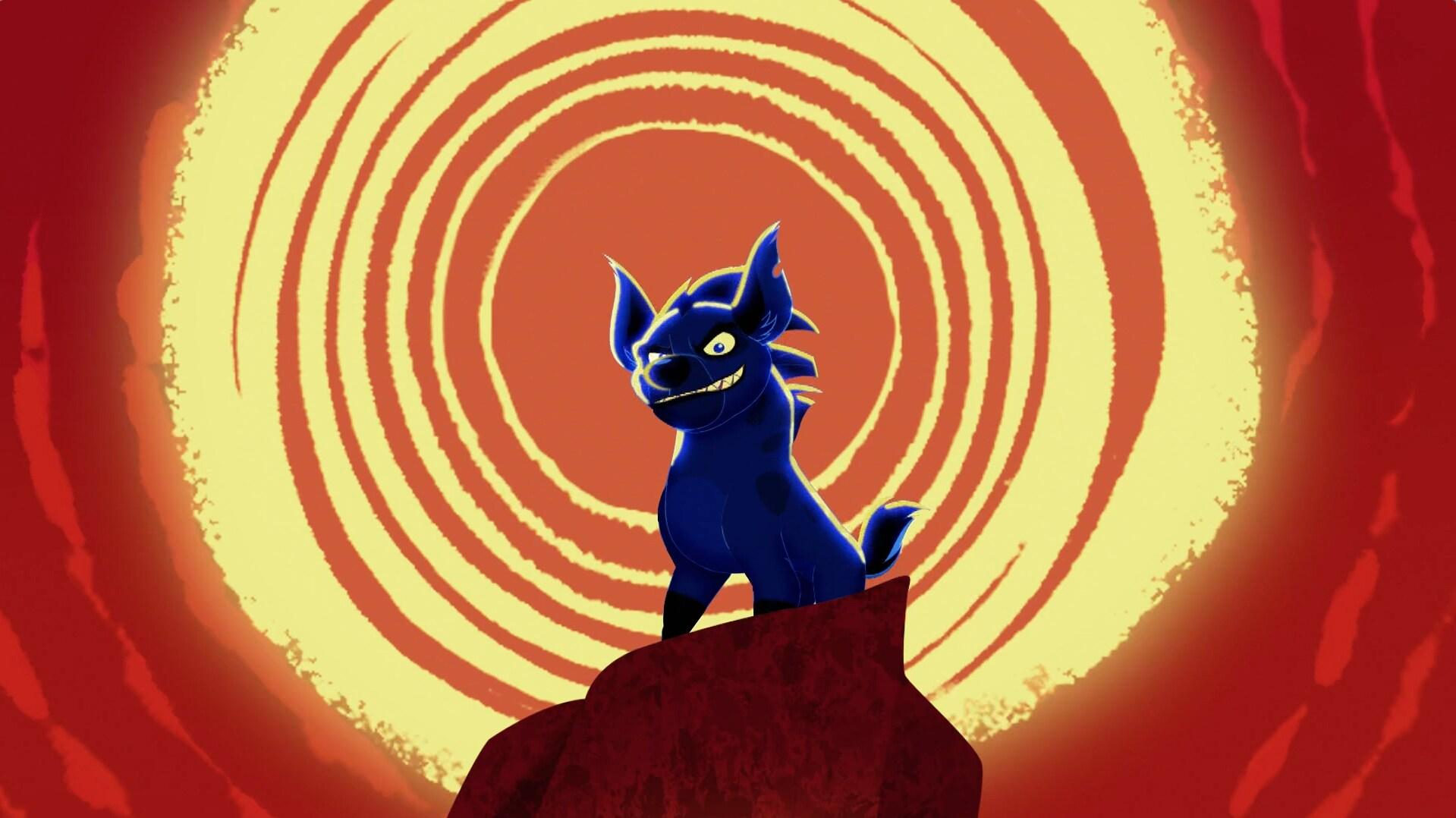A noite está pra atacar -  A Guarda do Leão