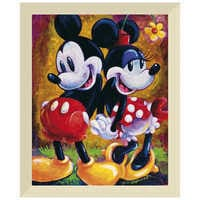 Image of Mickey Mouse and Minnie ''Two Hearts'' Giclée by Darren Wilson # 9