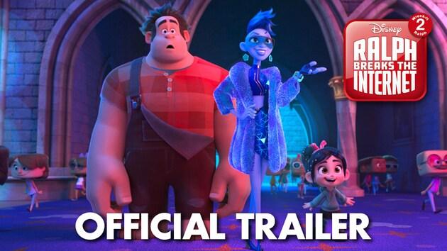 Watch the new trailer for #RalphBreaksTheInternet