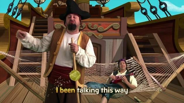 Music Video: Talk Like a Pirate Sing-Along