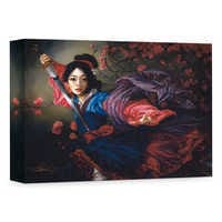 Image of ''The Elegant Warrior'' Giclée on Canvas by Heather Edwards # 1