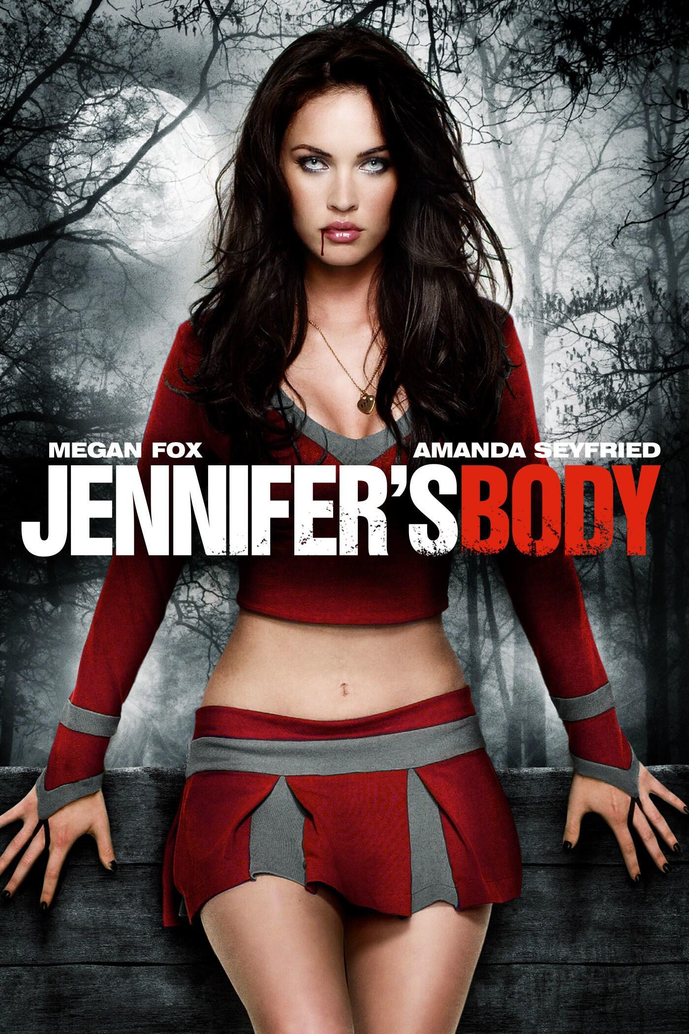 Jennifer's Body starring Megan Fox and Amanda Seyfried movie poster