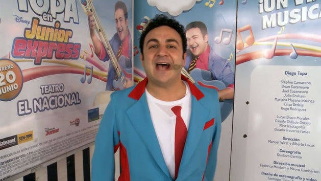 El Show - Topa en Junior Express