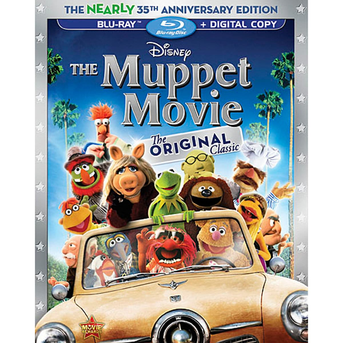 67a85998cf4ca Product Image of The Muppet Movie Blu-ray + Digital Copy   1