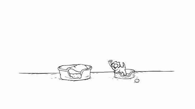 """""""Una siestita"""" - El gato de Simón (Favorito de Disney)"""