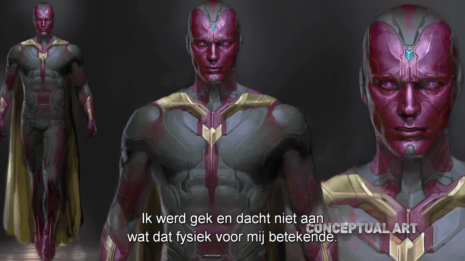 Marvel's The Avengers: Age Of Ultron -  Designing Vision