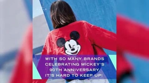 ICYMI: Brands Celebrating Mickey's 90th Anniversary | News by Disney Style