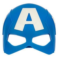 Image of Captain America Mask & Shield Set # 3