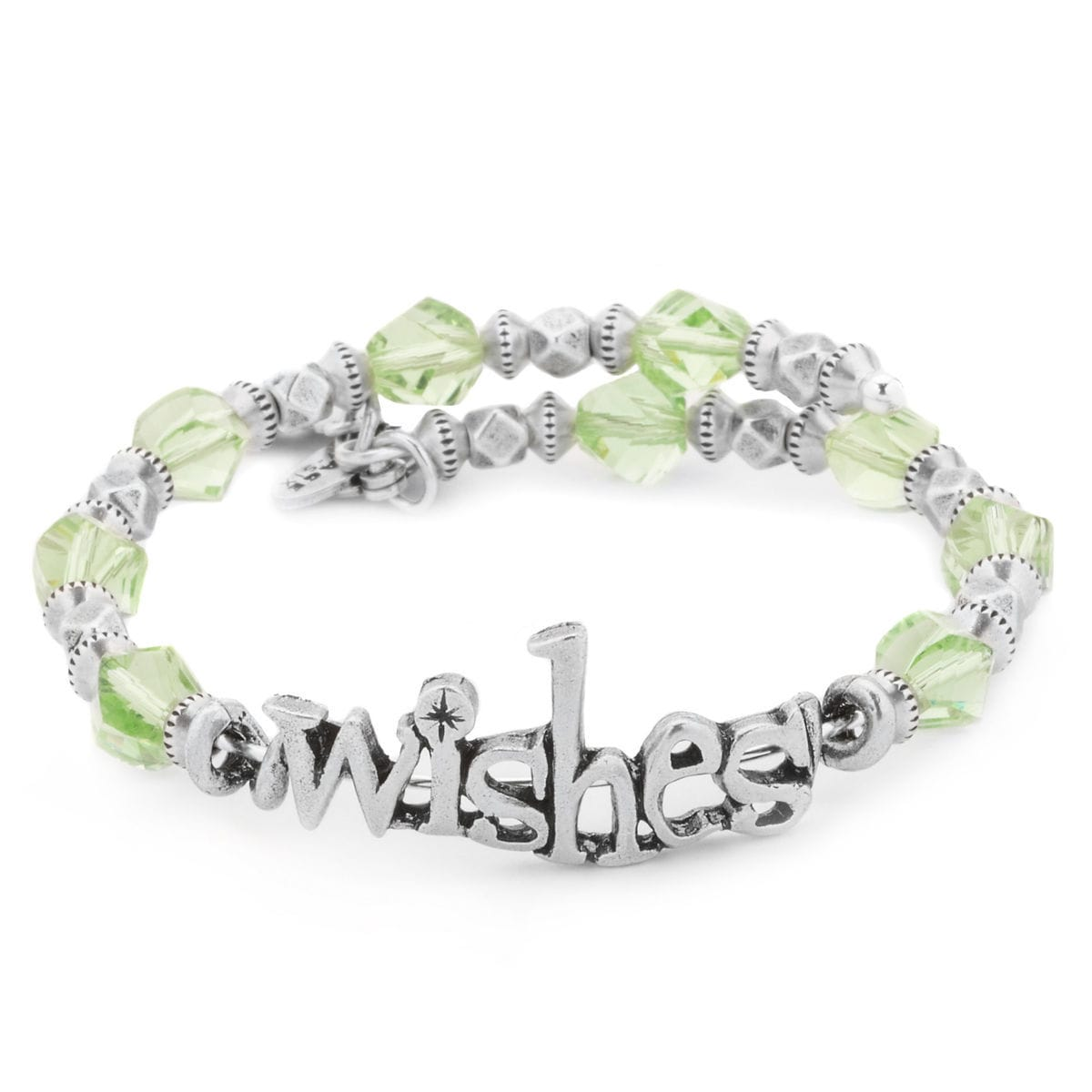 Product Image Of Wishes Silver Wrap Bracelet By Alex And Ani 1
