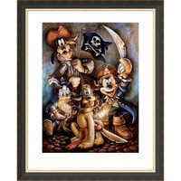 Image of Mickey Mouse and Friends ''Motley Crew'' Giclée by Darren Wilson # 3