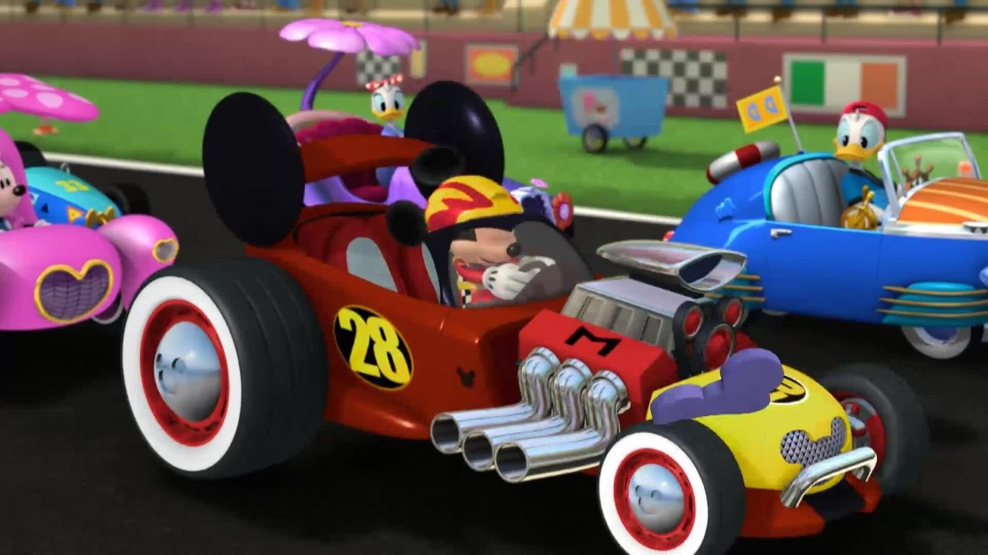 Nieuw op Disney Junior: Mickey and the Roadster Racers