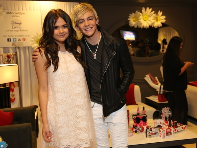 Teen Beach Style - Ross Lynch and Maia Mitchell in the RDMA 2013 Minnie Lounge.