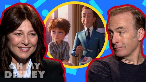 Bob Odenkirk and Catherine Keener on Playing Siblings in Incredibles 2 | Oh My Disney