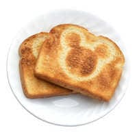 Image of Mickey Mouse 2-Slice Toaster # 3