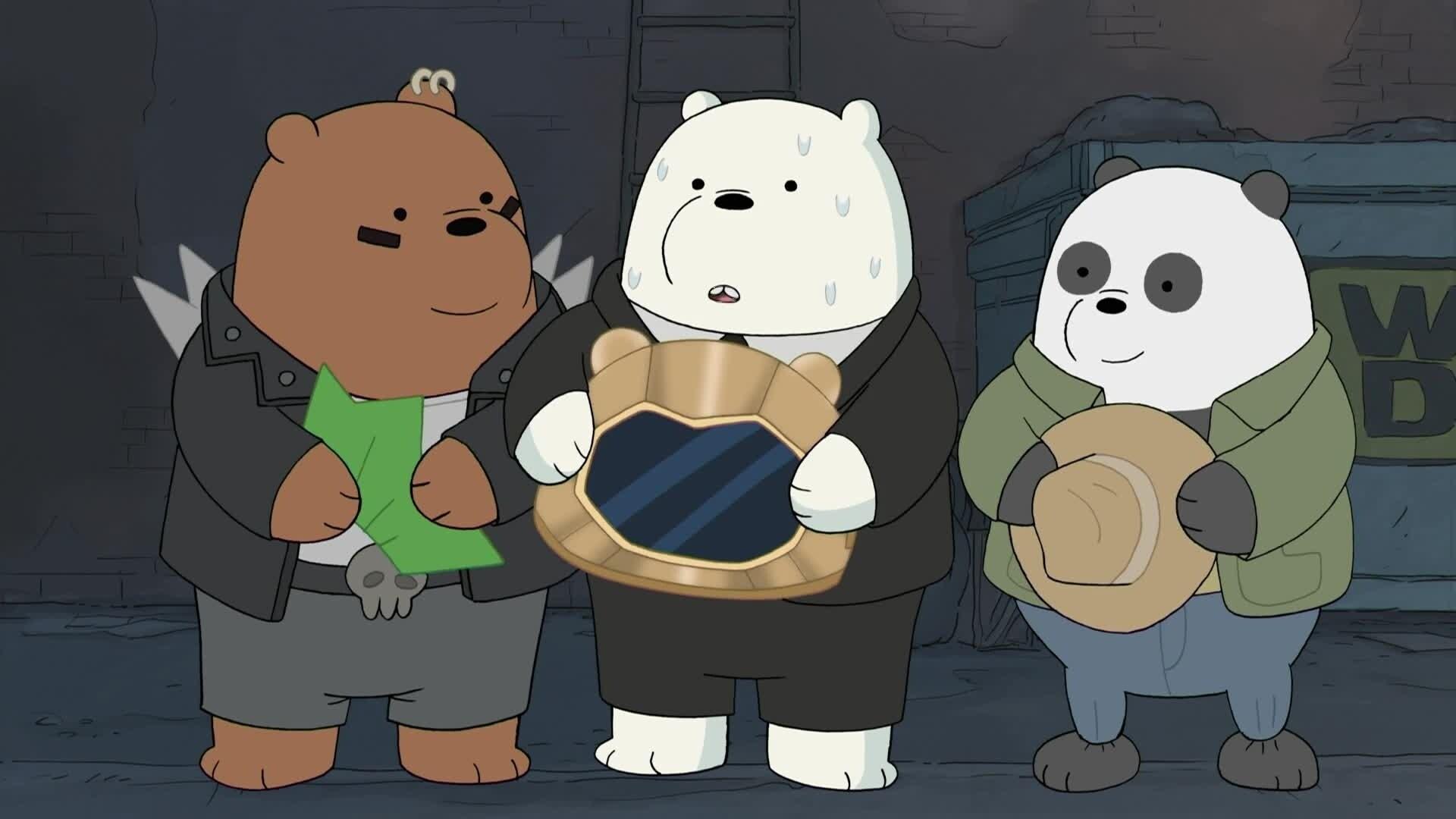 We Bare Bears - Bären wie wir - Wir und die Pizza-Band / Wir und die Balz