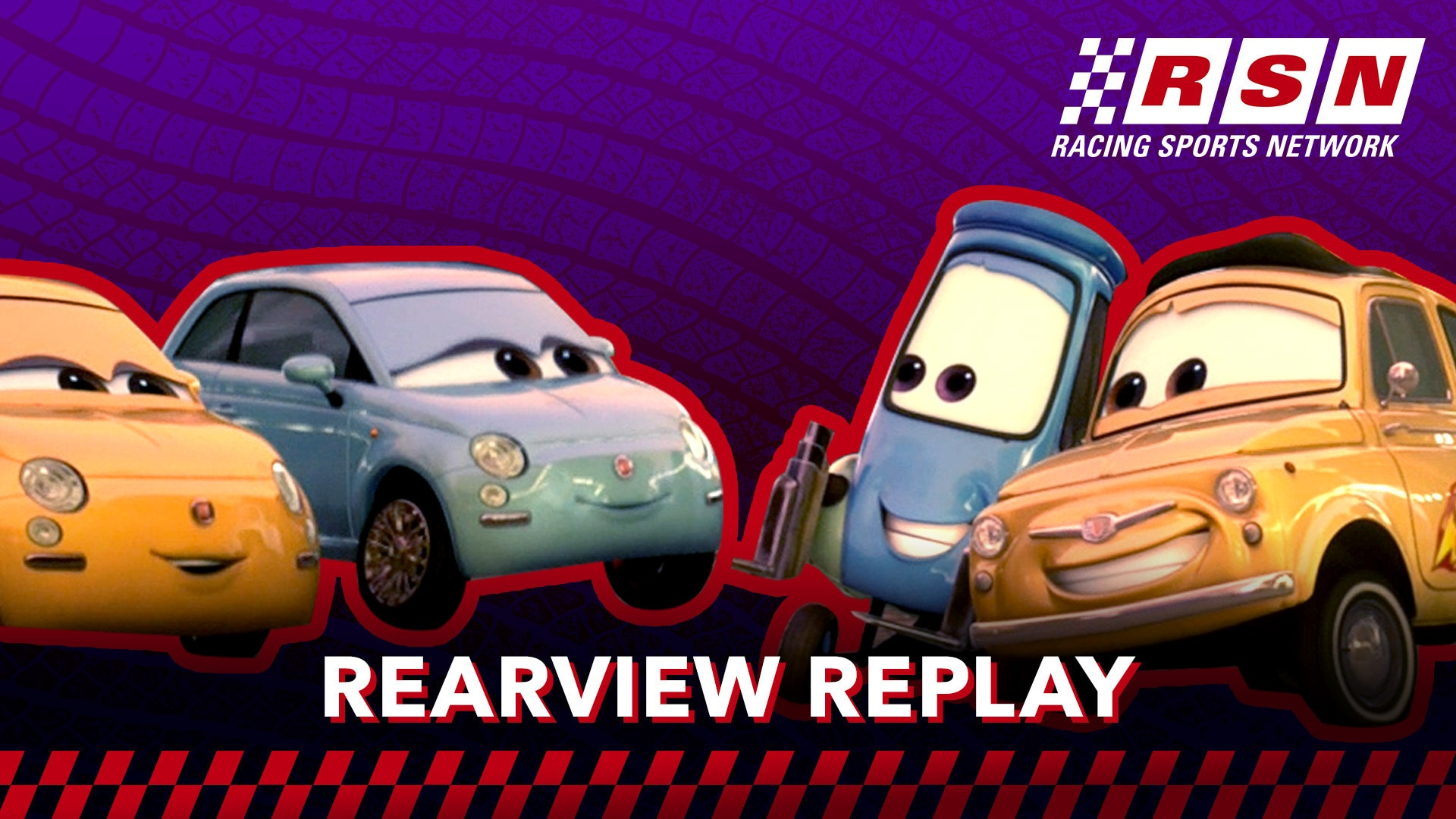 Rearview Replay: Luigi & Guido Dance in Italy | Racing Sports Network by Disney•Pixar Cars