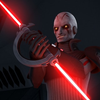 The Grand Inquisitor's Lightsaber