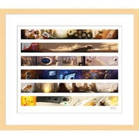 Image of ''Wall•E Colorscript'' Framed Giclée on Paper by Ralph Eggleston - Limited Edition # 1