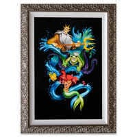 Image of The Little Mermaid ''Ariel's Innocence'' Limited Edition Giclée  by Noah # 1